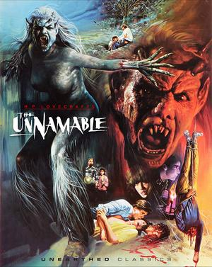 The Unnamable Blu Ray Poster