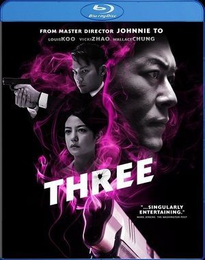 Three Blu Ray Poster