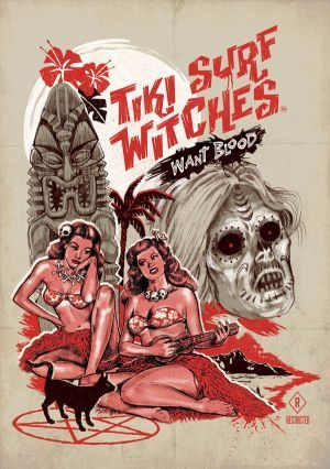 tiki surf witches want blood 00