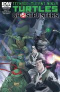 Tmnt Ghostbusters 1 Cover
