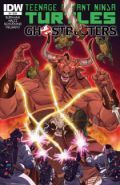 Tmnt Ghostbusters 4 Cover