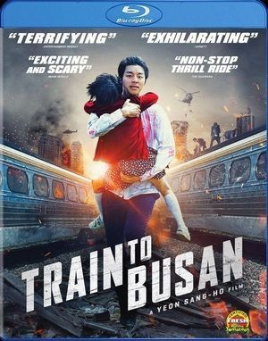 Train To Busan Blu Ray Poster