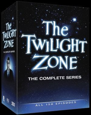 The Twilight Zone Complete Series Front