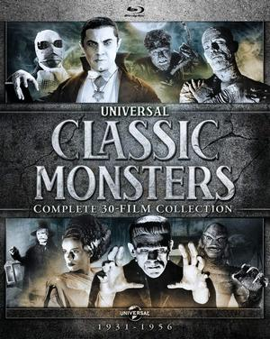 Universal Monsters Blu Ray Poster