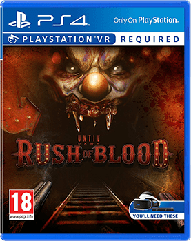 Until Dawn Rush Of Blood Ps3 Cover