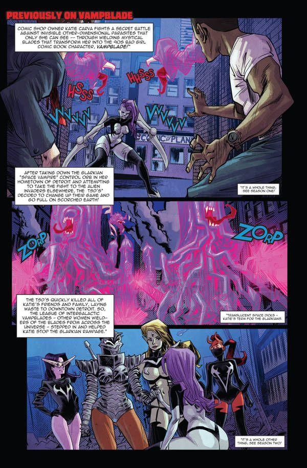 Vampblade Season 3 01