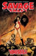 Savage Tales Vampirella Cover